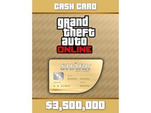 Grand Theft Auto Online: Whale Shark Cash Card [Digital Code]