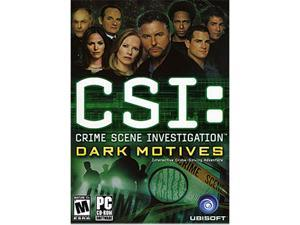 CSI: Dark Motives (Jewel Case) PC Game