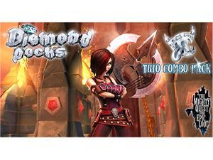 The Mighty Quest for Epic Loot Diamond Packs- The Trio Combo Pack [Online Game Code]