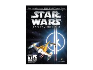 Star Wars Fan Favorites: Jedi Knight II, Jedi Outcast, Jedi Academy, Starfighter PC Game