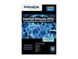 Panda Security Internet Security 2010 3 User Small Box + Rebate