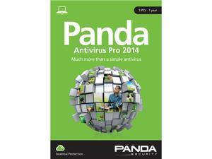 Panda Antivirus Pro 2014 - 3 PCs