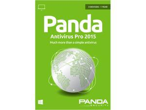 Panda Antivirus Pro 2015 3 PC - 1 Year - Download