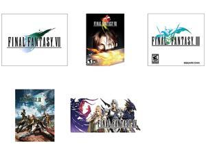 Final Fantasy Power Pack (III + IV + VII + VIII + XIII) [Online Game Codes]