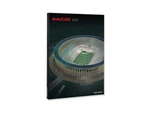 Autodesk AutoCAD 2013 w/ 1 year Subscription