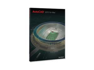 Autodesk AutoCAD 2013 for Mac w/ 1 year Subscription