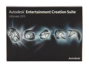 Autodesk Entertainment Creation Suite Ultimate 2013 Student Academic Version
