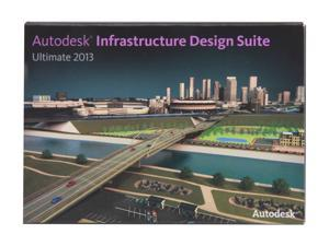 Autodesk Infrastructure Design Suite Ultimate 2013 Student Academic Version