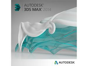 Autodesk 3ds Max 2014 - Includes 1 year Autodesk Subscription