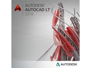 Autodesk AutoCAD LT 2014 Upgrade for PC