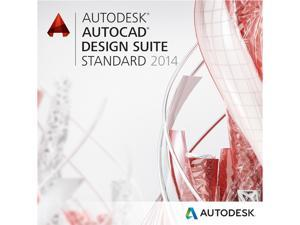Autodesk AutoCAD Design Suite Standard 2014 for PC - Includes 1 year Autodesk Subscription
