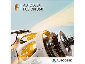 Autodesk Fusion 360 - New Subscription ( 2 years ) + Basic Support - 1 seat - hosted - commercial - VCP, Single-user - Win, Mac