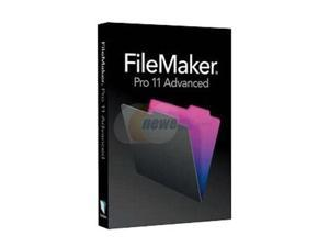 FileMaker Pro 11 Advanced Education non-profit