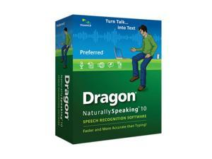 NUANCE Dragon Naturallyspeaking Preferred 10 English Minibox