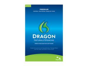 NUANCE Dragon Naturally Speaking Premium 11 Upgrade from Version 9 & Up English No Headset