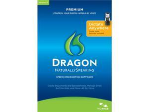 NUANCE Dragon Naturally Speaking Premium 11 With Recorder English