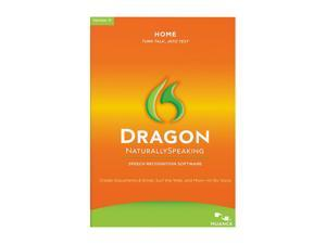 NUANCE Dragon Naturally Speaking Home 11 English