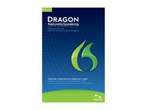 NUANCE Dragon NaturallySpeaking 12 Premium 2-User