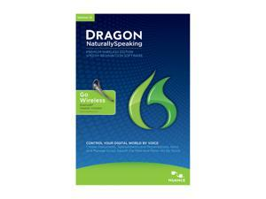 NUANCE Dragon NaturallySpeaking 12 Premium Wireless (Bluetooth Headest Included)