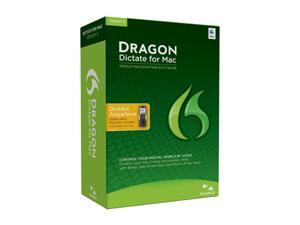 NUANCE Dragon Dictate for 3.0 w/Digital Voice Recorder