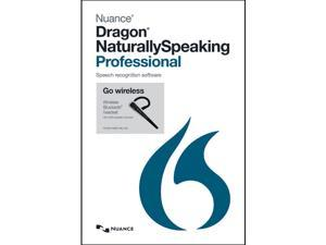 NUANCE Dragon NaturallySpeaking Professional 13.0 Retail With Bluetooth Headset