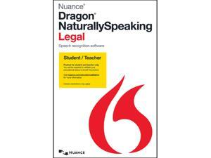 NUANCE Dragon Naturally Speaking Legal 13 - Student & Teacher
