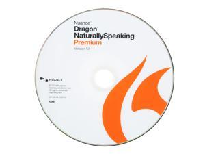 NUANCE Dragon Naturally Speaking Premium 13 - OEM