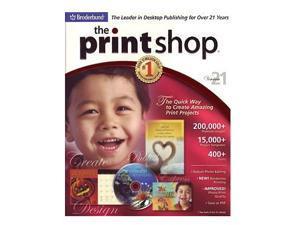 Encore Software The Print Shop 21 Standard