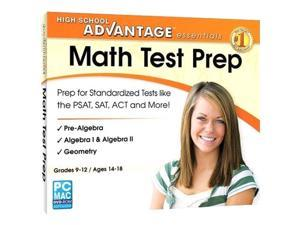 Encore Software High School Advantage Essentials Math Test Prep