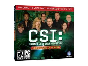 CSI 3 Dimensions of Murder (Jewelcase) PC Game