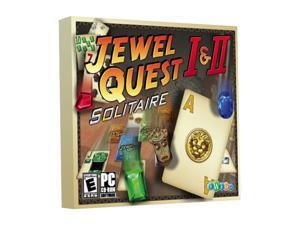 Jewel Quest 1 & 2 Jewel Case PC Game