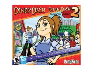Diner Dash & Diner Dash 2: Restaurant Rescue DJC PC Game
