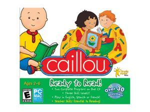 Encore Software Caillou Ready To Read Jewel Case
