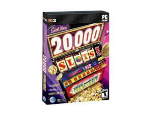 Club Vegas 20,000 Slots Jewel Case PC Game