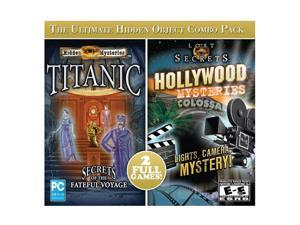 HIDDEN MYSTERIES: TITANIC & HOLLYWOOD MYSTERIES 2-PACK JC PC Game