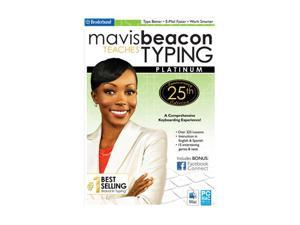 Encore Software Mavis Beacon Teaches Typing Platinum - 25th Anniversary Edition
