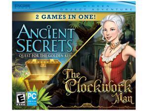 The Clockwork Man + Ancient Secrets Jewel Case PC Game