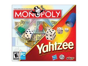 Yahtzee Jewel Case/Monopoly Jewel Case PC Game