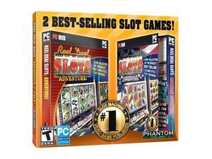 Reel Deal Slots: Adventure 2 Pack Jewel Case