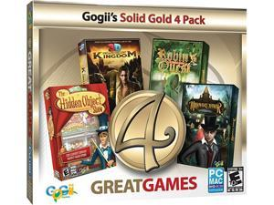 4 Great Games Gold Jewel Case PC Game