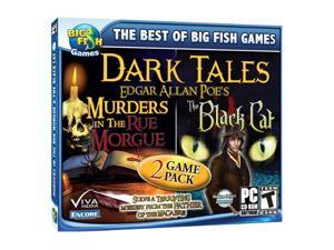 Dark Tales 2-pack: Edgar Allan Poe's The Black Cat & Edgar Allan Poe's Jewel Case PC Game