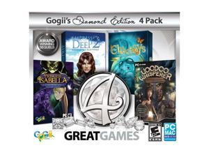 4 Great Games Diamond Jewel Case PC Game