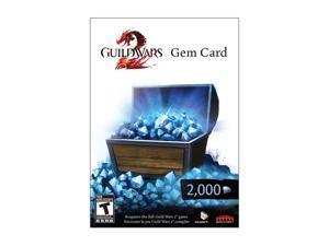 Guild Wars 2 Gem Card - 2000 Gems PC Game