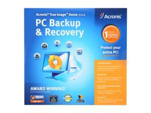 Acronis True Image Home 2012 - 1 User For System Builder - OEM