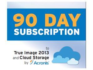 Acronis 250 GB Online Backup 90 day Subscription