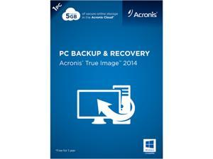 Acronis True Image 2014 - 1 PC (DVD Case)