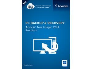 Acronis True Image 2014 Premium - 1 PC