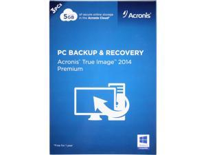 Acronis True Image 2014 Premium - 3 PCs