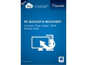 Acronis True Image 2014 Family Pack - 3 PCs - Download