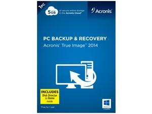 Acronis True Image 2014 w/ Disk Director 11 Home